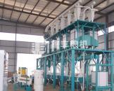 大型钢架式面粉加工设备