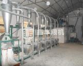 6组石磨面粉加工设备