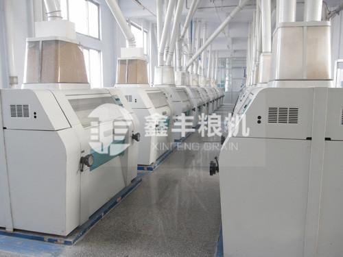 300吨级面粉加工设备
