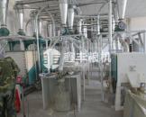 内蒙古10吨石磨面粉机