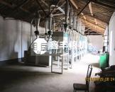 陕西渭南30吨级面粉机组安装图