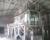 山东济宁安装的30吨级玉米加工机械