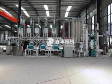 10吨级玉米糁加工设备